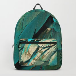 Feather Glitter Backpack