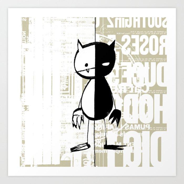 minima - milieu Art Print