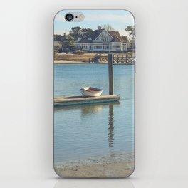 Bass River, Yarmouth Massachusetts on Cape Cod iPhone Skin