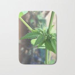 Cannabis Cluster Bath Mat