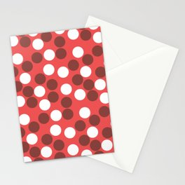 Hundred's and Thousand's - Bright Red Stationery Cards