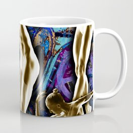 Woman In The Machine Frieze Color 2 Coffee Mug