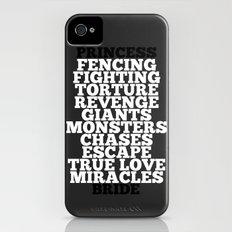 Princess Bride Slim Case iPhone (4, 4s)