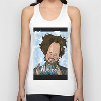 aliens Tank Tops featuring Aliens by Slightly Absurd