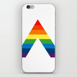 LGBT ALLY Rainbow Gay Pride Flag iPhone Skin