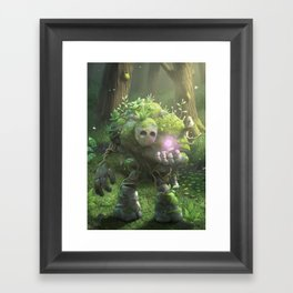 Garden Golem Framed Art Print