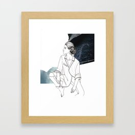ETERNAL BEAUTY Framed Art Print