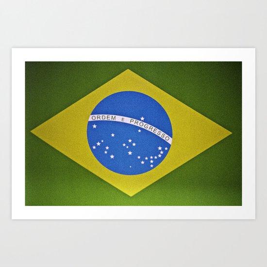 Patria Amada, Brasil (Brazil) Art Print