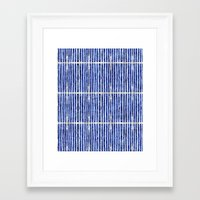 bamboo Framed Art Prints featuring Bamboo by 83 Oranges™