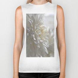 Chrysanthemum Textures Biker Tank