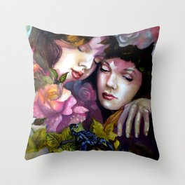 Protection Between Us Throw Pillow