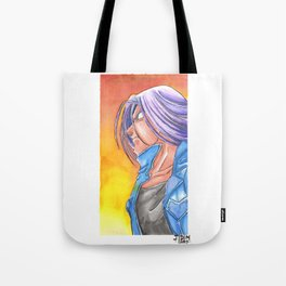 Future Trunks Tote Bag