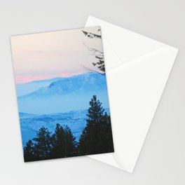 Pastel sunset Stationery Cards