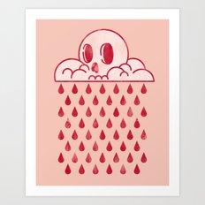 Bloody Days Art Print