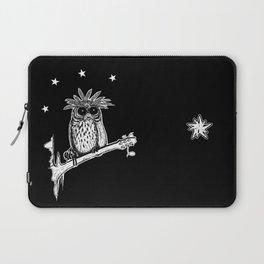 Metal Owl Laptop Sleeve