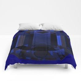 September Babies deed Blue Sapphire Birthstone Design Comforters