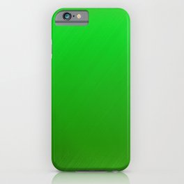 Bright Green Stitch iPhone Case