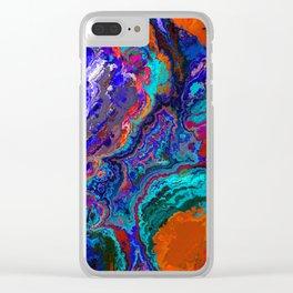 Wonderful Fractal 3186 Clear iPhone Case