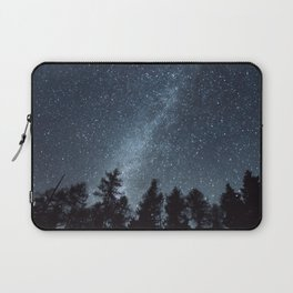Milky Way in the Woods | Nature and Landscape Photography Laptop Sleeve