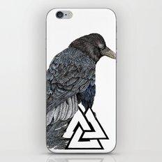 Muninn iPhone & iPod Skin