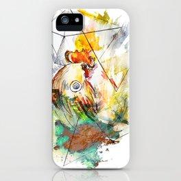 geometrico gallo iPhone Case