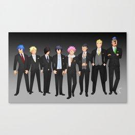 FT boys suits Canvas Print