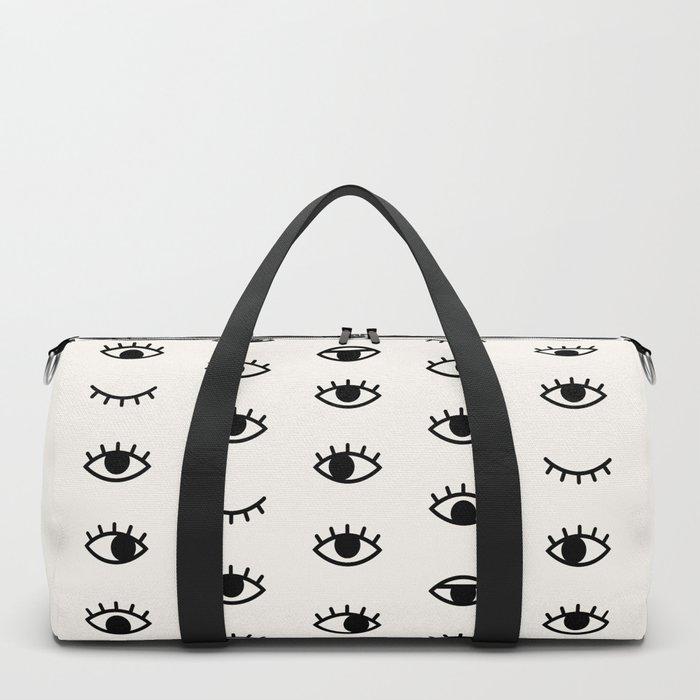 Eye Chart Duffle Bag