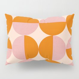 Abstraction_SUN_Circle_Pattern_Minimalism_001 Pillow Sham
