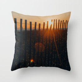She Would See the Day Through to the End Throw Pillow
