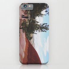 Man and His Dog at Painted Hills  Slim Case iPhone 6s