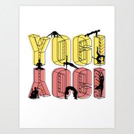 Daily Design 1 - Yogi Art Print