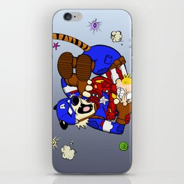 Calvin War iPhone Skin
