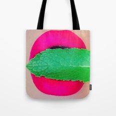 Phoenix Mint Lips Tote Bag