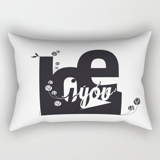 I Love You 3 Rectangular Pillow