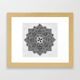 The Pattern 2 Framed Art Print