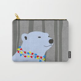 Polar Bear Holiday Design Carry-All Pouch