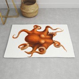 Octopus by Ernst Haeckel Rug
