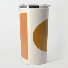 Abstraction_Geometric_Shape_Moon_Sun_Minimalism_001D Travel Mug