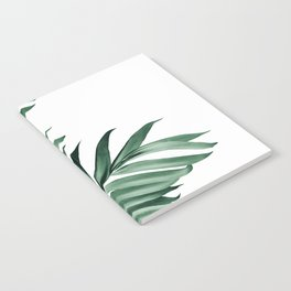 Palm Leaves Tropical Green Vibes #3 #tropical #decor #art #society6 Notebook
