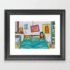 Bunk Buddies Framed Art Print