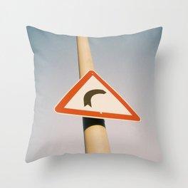 Street Sign Throw Pillow