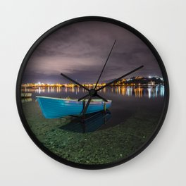 Quiet in the lake Wall Clock
