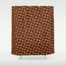 Jack O Lanterns // Halloween Collection Shower Curtain