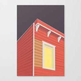 RØDE HUS Canvas Print