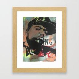 Biggie the kin Framed Art Print