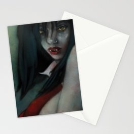 Vampire in Red Stationery Cards