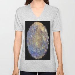 Blurry and Bright Mercury Unisex V-Neck