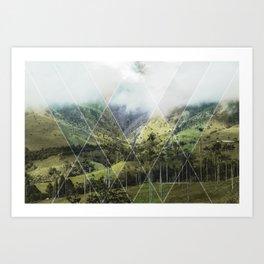 Cocora - Lines Art Print