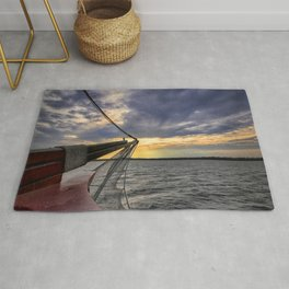 Sunset off the Bow Rug