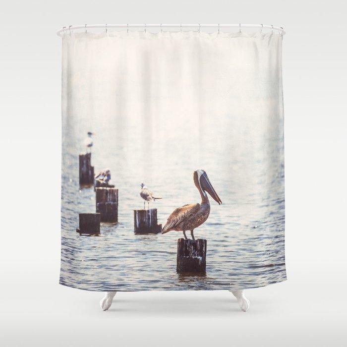 Gulf Coast Peace Shower Curtain